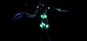 MMD - Miku TDA No Hips Not Exactly (Edited Ver.) by MikuHatsune01