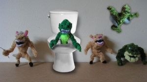 Ghoulies by fuzzyfigureguy