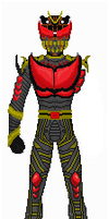 Kamen Rider Deamon-Pixel by KyuubiNight