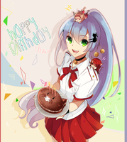 Happy Birthday Utawa! by Raeyxia