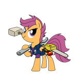 Dead Rising - Scootaloo Ramos by MattX16