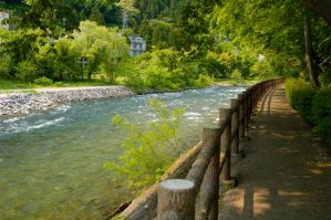 River in Gunma by snacktime