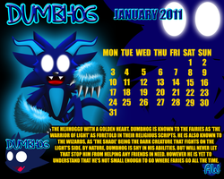 Dumbhog Calender 2011 - Jan by ARTic-Weather