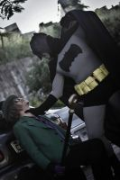 The Riddler Vs Batman - Gotham Park Fight  Pt.3 by DashingTonyLima