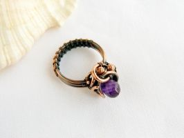 Amethyst ring by UrsulaOT