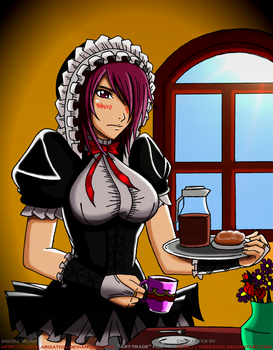The duty of the Maid Kantu by LD-Polarization
