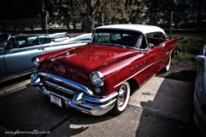 Red 55 Buick by AmericanMuscle
