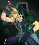 Cloud and Zack by Zatransis