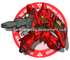MSN-06S SINANJU by darksonwong