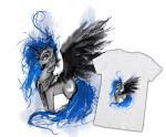 Nightmare Moon - T-shirt design sketch by Ziom05