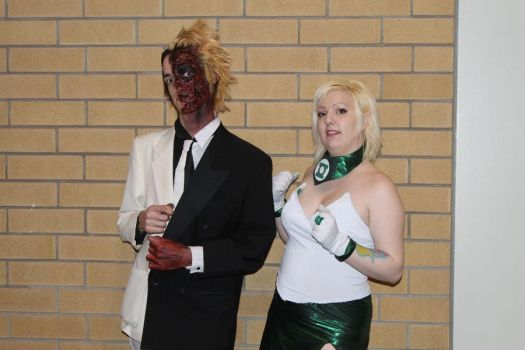 TwoFace and Arisia by mindlessLink