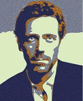 Hugh Laurie lavendar shadow by NeonGlo