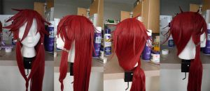 Grell Sutcliff wig by StitchesnKidneys