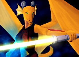 Jedi Dragon by Dragonborn91