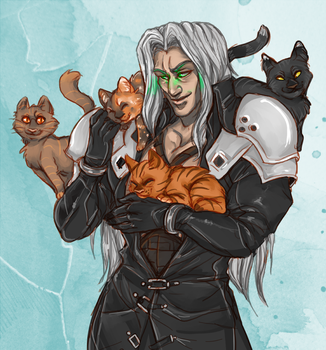 Cat Party by Gainstrive