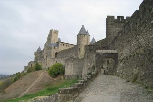 France, way to Carcassonne by elodie50a