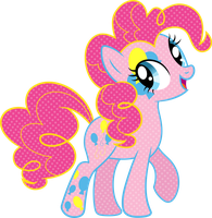 Cutie Mark Magic Pinkie Pie Vector by icantunloveyou