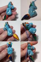 Rainbow Dash Dangly Tail by ChibiSilverWings
