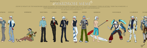 Nijuunis Wardrobe Meme - Slash by Sidian07