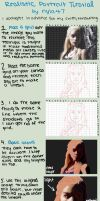 Realistic Portrait Tutorial by HaNJiHye