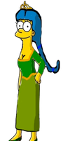 Marge Simpson As Princess Fiona by darthraner83