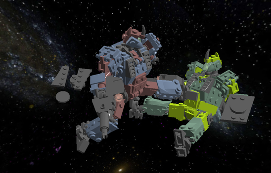 Space Battle Simulation by Tobymanic