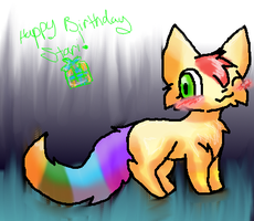 Happy B-day Stari by Mewforevah