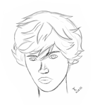 ''Alexander'' sketch first try by PerfectionChaosMe
