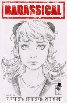 Pandora Sketch Cover (Issue Two Kickstarter) by ColletteTurner