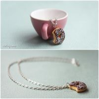 Chocolate and Sprinkles Donut by Aiclay