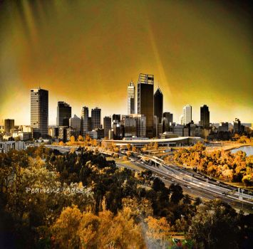 City Of Perth by THEBUTTERFLYANGELS