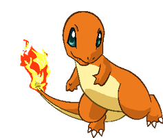 Personnages Libres : 004 Charmander by Mechamyu