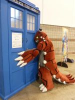 [DCC] Groudon is a Whovian Too!
