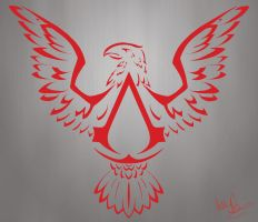 Assassin's Creed III Emblem by Alliekattus