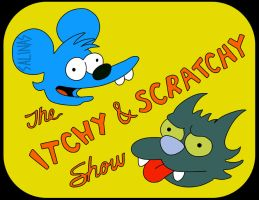 Itchy And Scratchy by israelsalinas