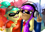 Squid Kids by AngelicNeonAnime