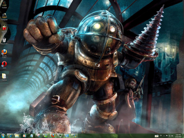 Bioshock 2 Windows 7 Theme by yonited