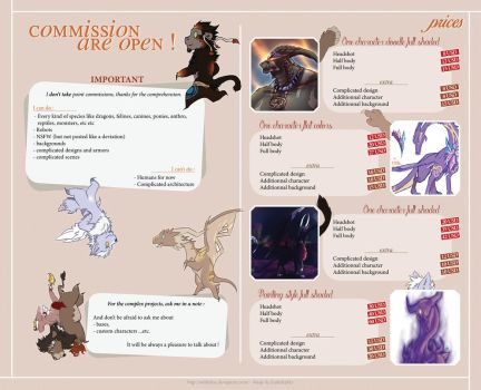 Commission prices by Withelias