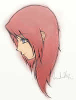 Kairi Headshot by mooshl