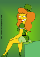 St. Patty's Day- Mindy by broad86new