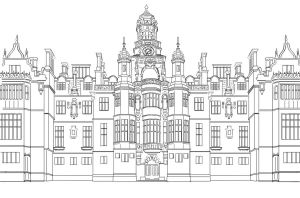 Disney Castle Lineart By Bloomyliahona On Deviantart