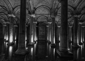 yerebatan the cistern basilica by 1poz