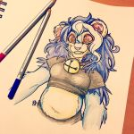 Floofy Lion by ToLoveaKiwi