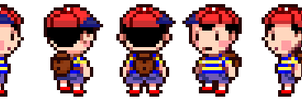Ness Mother 4 Style by WarpstarX
