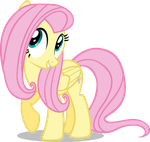 Confident Fluttershy by DeathNyan