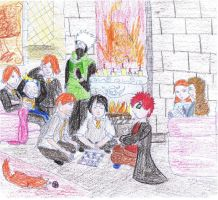 Naruto and the goblet of fire by XSpriteyX