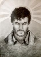 Will Graham by AzuiArt