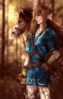 Legend Carried by the Winds Breath by Tiffany-Tees