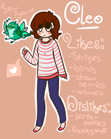 Cleo refffff by Freckled-Kat