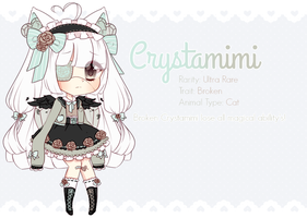 Broken Crystamimi Auction: CLOSED by mahkala